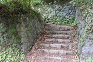 愛宕神社から下山