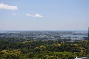 大楠山山頂からの景色
