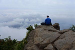 女体山からの景色