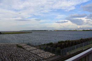 海岸からの景色
