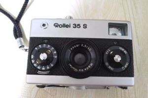 Rollei 35 S テッサー