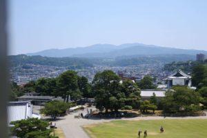菱櫓からの景色