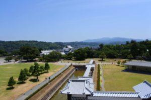 橋爪門続櫓からの景色
