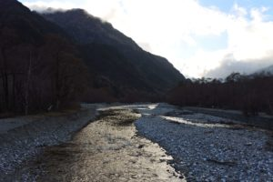 明神橋からの景色