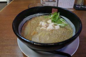 ミニ鶏白湯ラーメン