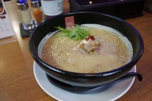 ミニ鶏白湯味噌ラーメン