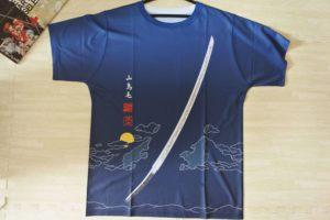 山鳥毛Tシャツ