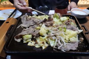 岡田旅館 夕食