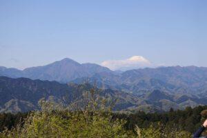 小仏峠からの景色